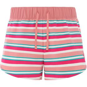 The North Face Class V Mini Shorts Women mr.pink creek side stripe print